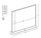 Pannelli espositivi sideros pannelli espositivi vetrine for Composita arredamenti